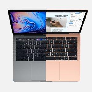 MacBook Air 同样有更新, 且小幅官降MacBook Pro 重磅更新, 全系配备Touch Bar+8代4核起步