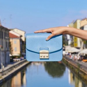 Extra 35% OffFurla Julia Mini Saffiano Leather Crossbody Bag