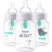 Philips Avent 新款!婴儿防胀气奶瓶3个装,9盎司容量