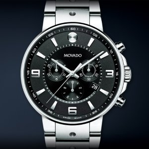 Lowest price EXTRA $300 OFF Movado Men's SE Pilot Watch 0606759