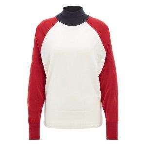 BOSS - Relaxed-fit turtleneck sweater in merino wool