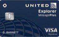Earn 40,000 bonus miles and $100 statement creditUnited? Explorer Card