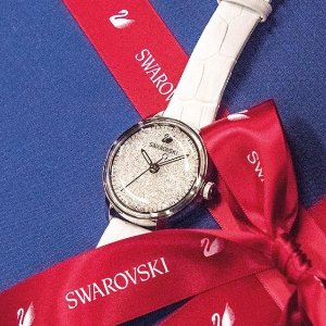 低至2.1折Swarovski戒指、水晶手表等大促