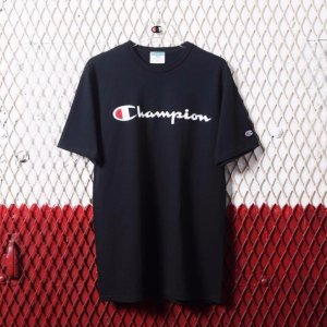 $14Champion Men's Black T-Shirt Sale