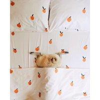可爱桃子床品