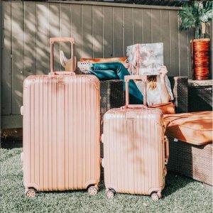 低至2.6折!单个行李箱仅$60Rue La La 行李箱套装大促 机场再不怕认错了