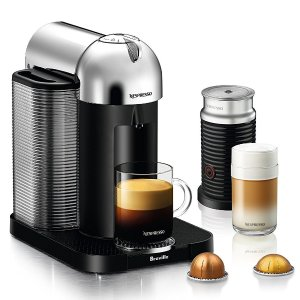 Today Only:$119Nespresso Vertuo Coffee and Espresso Maker, Chrome (Certified Refurbished)