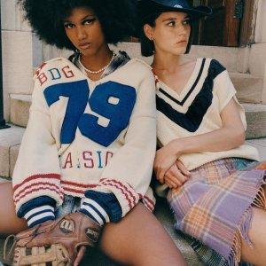 上新 BM风针织小上衣$79Urban Outfitters 针织毛衣专场 学院风、可爱风、BM风都有