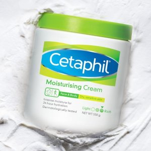 Cetaphil24小时保湿滋润 温和无香舒润保湿霜(大白罐)453g