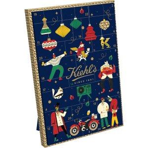 价值€171 现价€61即可收Kiehl's 科颜氏 2020 圣诞日历 收超值护肤套装