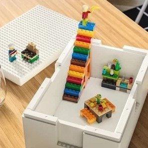 LEGO x IKEA 合作款收纳盒预计10月上市LEGO x IKEA 合作款收纳盒预计10月上市