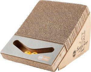 K&H Pet Products Scratch, Ramp & Track Cardboard Scratcher Interactive Cat Toy, Scratch, Ramp & Track - Chewy.com