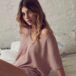 6折 舒适自由更好看Urban Outfitters 精选家居服、内衣专场