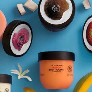 低至5折 + 包邮 囤身体乳好时机The Body Shop 精选护肤、身体护理产品热卖