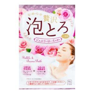 日本COW牛乳石鹸共进社 胶原美肌浓密泡泡入浴剂 #玫瑰香 30g -