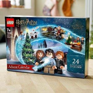Lego9月1日上市2021年圣诞倒计时日历 76390   哈利波特