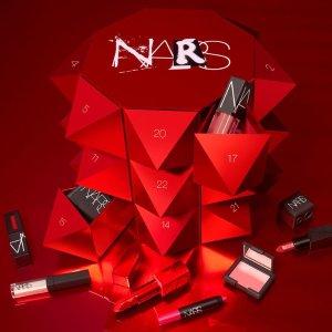 $150 内含24件明星产品 超值NARS官网上新节日倒数日历
