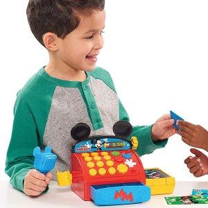 $10.58 (原价$59)白菜价:Mickey Mouse 米奇收银机玩具  体验收银的乐趣