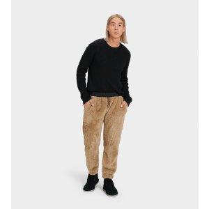 UGG绒面裤