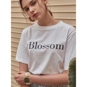 YAN13Blossom字母短袖