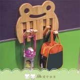 【Grow with Me】Wall Mounted Coat Rack with Retractable Hooks 實木造型壁掛                  – Yobabyshop