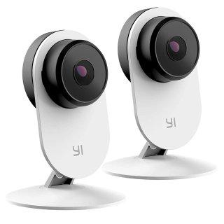 支持人脸识别 + 语音分析 $56.50Yi 第三代 1080p AI 智能家庭室内安防摄像头 两只装
