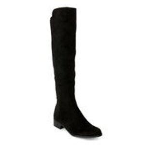 UnisaBlack Unhudy Over-the-Knee Boots