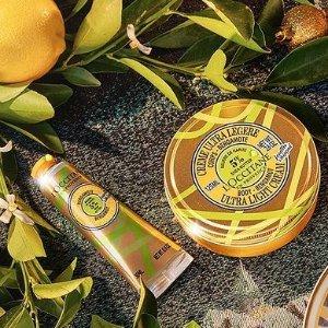 最高送礼包4件套(价值$21)L'Occitane 滋润双手 樱桃萃取抗氧化 蜂蜡向日葵长效保湿
