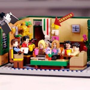折后仅€54.99 原价€69.99Lego 老友记25周年系列 Central Perk 咖啡馆 满满回忆杀