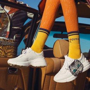 低至6折+满额免邮  get 明星同款中秋精选:Gucci 鞋履精选 乐福 运动鞋 高跟鞋 风格千变万化