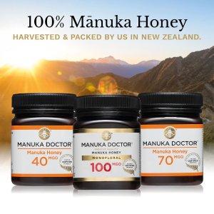 现价£14.99(原价£44.99 )Manuka Doctor 30MGO高营养蜂蜜500g热卖