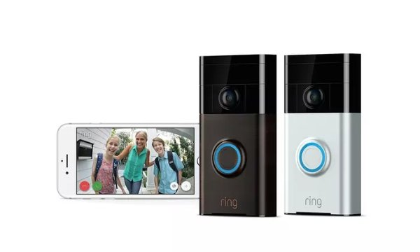 全新 Ring 1080P 智能门铃