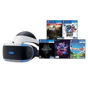 黑五预告:PlayStation VR 套装,含生化7、老滚5、高尔夫VR等5款游戏