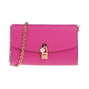 售价$765 只剩1只娇艳欲滴桃红 DOLCE & GABBANA 锁头包热卖