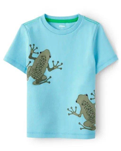 男童小青蛙短袖