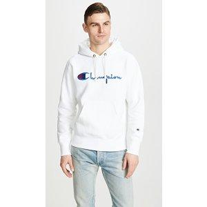 Champion Premium Reverse WeaveLarge Logo 帽衫