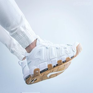 6de754f6a5af6 NikeGirls' Grade School Nike Air More Uptempo Basketball Shoes