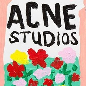 3折起 多款logo大围巾$204Acne Studios 海量爆款回归 多色囧脸卫衣、T恤$150起