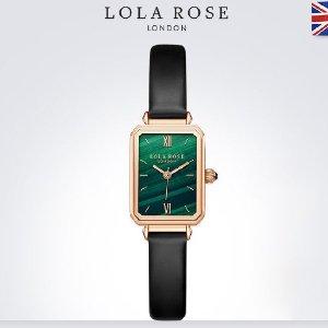 全线8折 小绿表£63起款超全Lola Rose 超火小众绿宝石腕表 比国内便宜近1/2