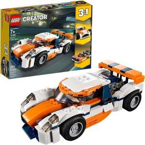 $18.5(原价$24.99)补货:Lego Creator 3合1 日落场地赛车 221件
