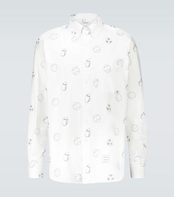 Multi Ball刺绣衬衫