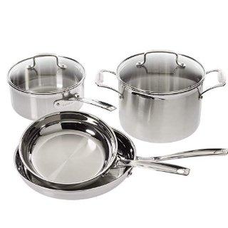 $109.99Cuisinart Stainless Steel 6-Piece Cookware Set @ Amazon