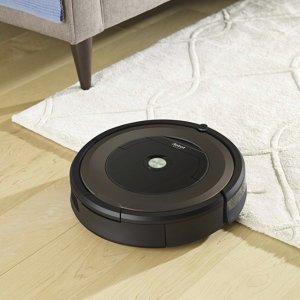 $399史低价:iRobot Roomba 890 智能扫地机器人 可连WiFi