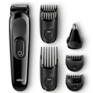 $24.94 (原价$32.99)Braun MGK3020 胡须造型器 六件套装