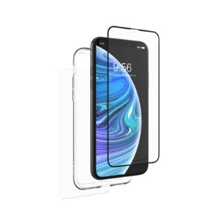 InvisibleShield Glass+ 360 with Bumper for the Apple iPhone XS/X | Apple iPhone Xs/X | InvisibleShield