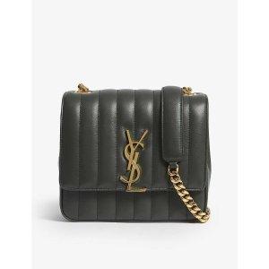 Saint LaurentVicky medium leather cross-body bag