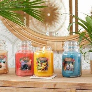 折上8折 €5.5收迷你蜡烛3只装Yankee 美国老牌香薰蜡烛 便宜大碗持香久 装点精致宅家生活