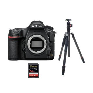 Nikon D850 Camera Body with Tripod & 64GB SD Card