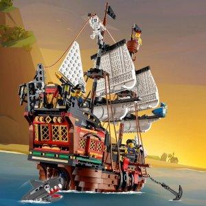独家:LEGO 创意百变系列 海盗船 31109 史低价,可搭三种造型
