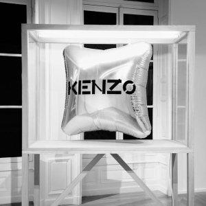 低至5折 多款虎头系列加入KENZO 秋冬精选时尚美衣、配饰促销